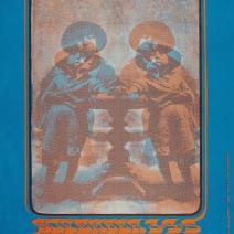 71 November 3-5 1967 Artist Gary Grimshaw. The Paupers, MC5 at Grande Ballroom