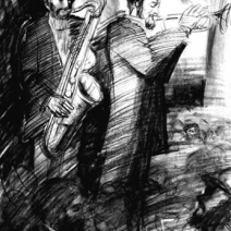 Trumpet Takes the Lead, drawing