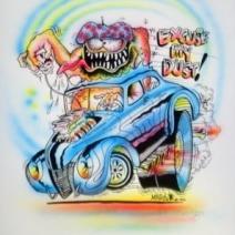 Monster airbrush artwork