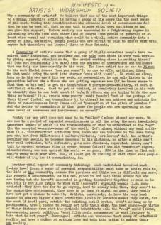 AWS Manifesto 1964
