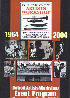 Detroit Workshop 40th anniversary booklet
