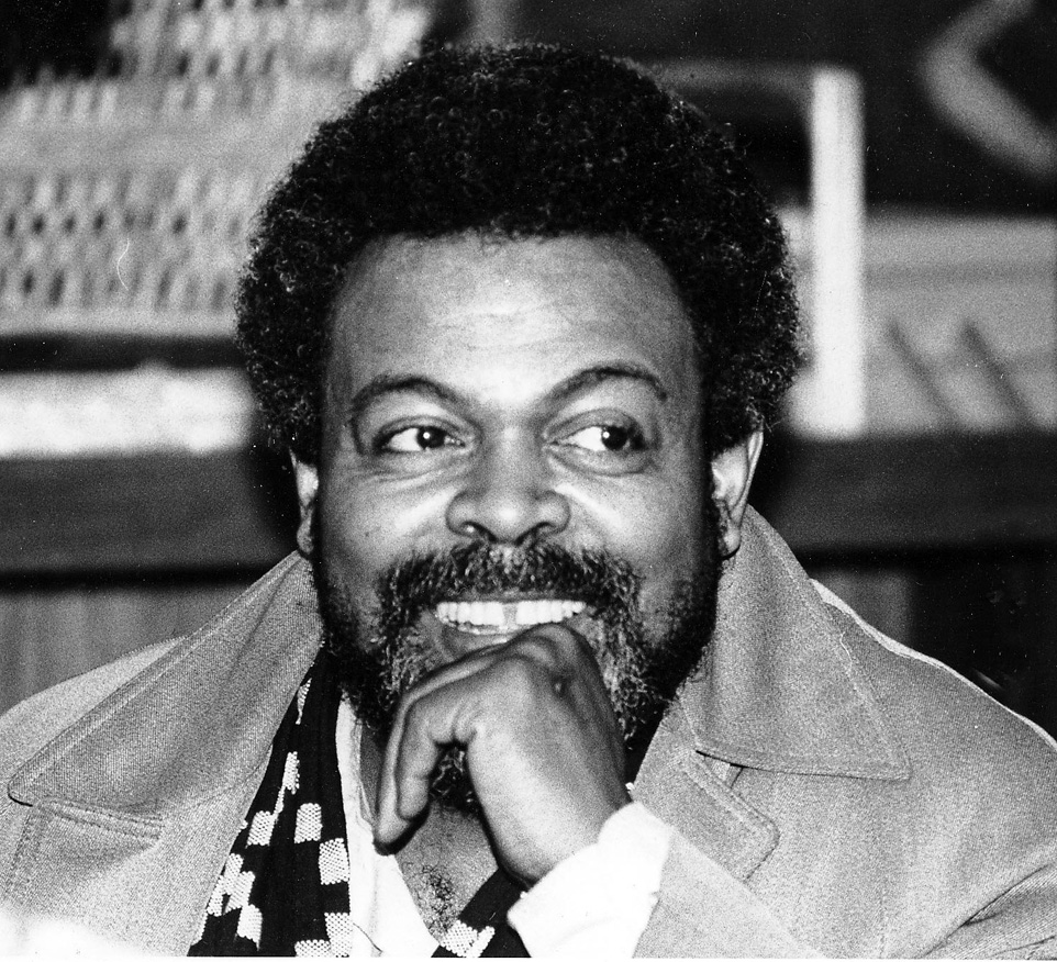 Amiri Baraka, 1980, by Leni Sinclair[1]