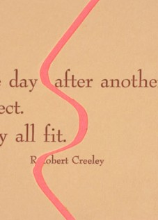 Robert Creeley postcard from the Alternative Press,