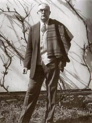 Charles Olson, by Jonathan Williams, Black Mountain College, 1953