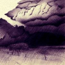 Summer Storm, print