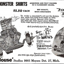 mouse monster shirt