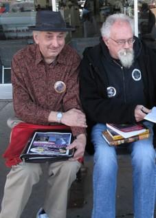 James Semark and John Sinclair Book Beat