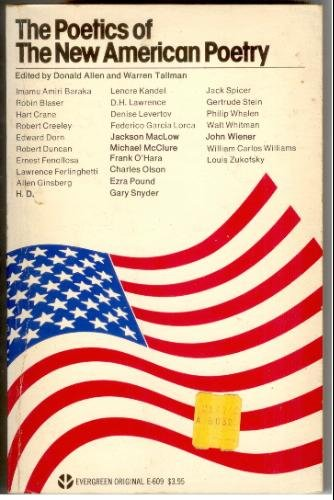 Cover of Donald Allen's New American Poetry Anthology.