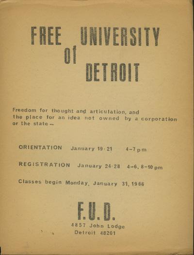 Free University Detroit