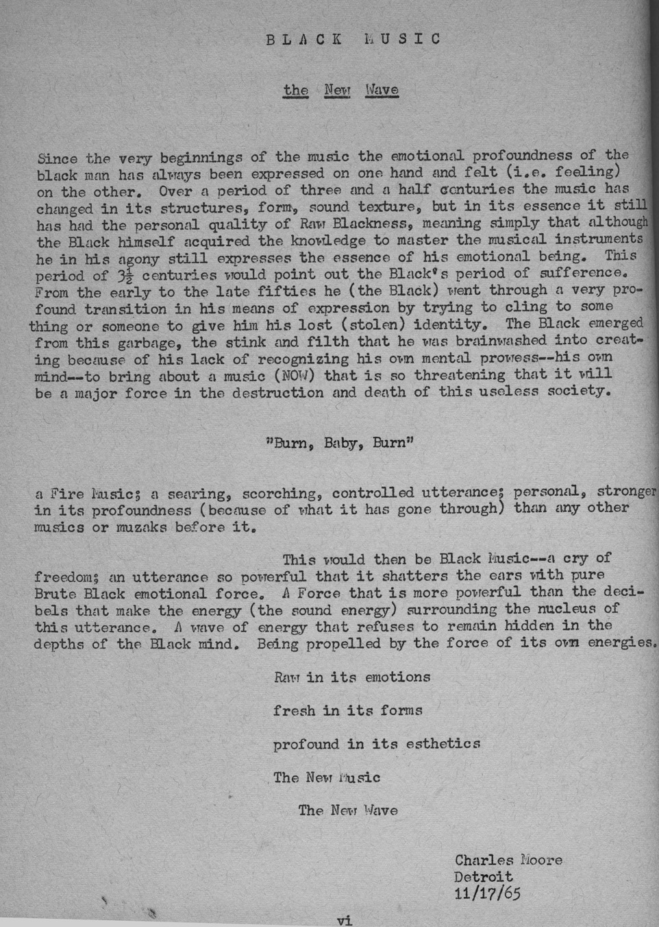 Introduction to Change #1 by Charles Moore, 1965