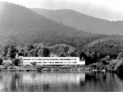 Image of Black Mountain College courtesy of the North Carolina State Archives.